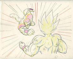 stupidartpunk:  as-warm-as-choco:  Dragon Ball Z (ドラゴンボール)...