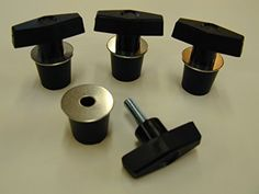 (4) Polaris Lock & Ride Lock and Ride Type T-Knob Anchor - Sportsman RZR, ACE & ATV's