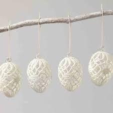 Výsledok vyhľadávania obrázkov pre dopyt háčkované velkonočné vajíčka Holiday Crochet, Crafts, Eggs, Holidays, Crochet Stitches, Easter Activities, Deco, Manualidades, Holidays Events