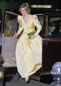 "March 4, 1985: Prince Charles & Princess Diana at the premiere of ""2010""."