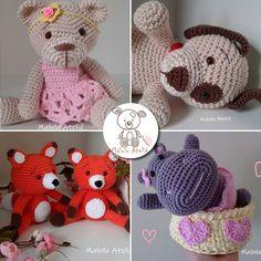confira nosso top 5 de bonecos de croche - amigorumis.