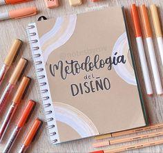 Bullet Journal Notebook, Bullet Journal School, Bullet Journal Ideas Pages, Pretty Notes, Cute Notes, Lettering Tutorial, Hand Lettering, Teacher Cartoon, School Notebooks
