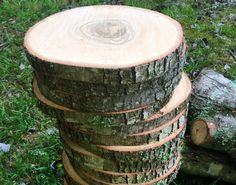 Set of 10 - 12 inch wood slices wedding centerpieces wood centerpieces wood slabs wood log slices centerpiece wood slab rustic wedding decor Wood Slab Centerpiece, Wood Centerpieces, Rustic Wedding Centerpieces, Wedding Decorations, Table Decorations, Wedding Table, Wedding Cakes, Wedding Ideas, Tree Slices