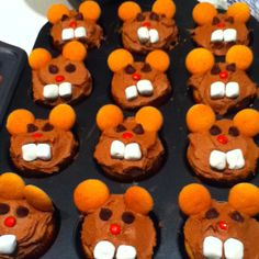 Groundhogs day cupcakes!