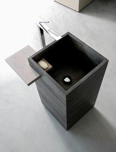 12 very modern pedestal sinks to revamp the bathroom Bathroom Furniture, Bathroom Interior, Modern Bathroom, Small Bathroom, Design Bathroom, Modern Furniture, Ideal Bathrooms, Beautiful Bathrooms, Luxury Bathrooms
