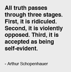 Image result for schopenhauer truth
