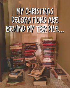 Send help  . . . . #christmas #booknerd #books #booksarelife #booksaremagic #bookstagram #bookstagramcommunity #bookstagrammer #bookworm #read #reader #reading #lovetoread #booksbooksbooks