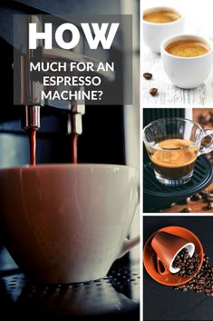 Are you looking for an espresso machine and you are wondering how much does an espresso machine cost? Craft Storage Cabinets, Ground Coffee Beans, Food Truck Design, Best Espresso, Coffee Machines, Instagram Giveaway, Coffee Type, Coffee Drinkers, Easy Food To Make