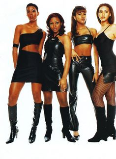 Self Titled Destiny's Child Album Cover 1998 Black Girl Groups, 2000s Fashion, Fashion Outfits, Beyonce Knowles Carter, Vintage Black Glamour, Black Girl Aesthetic, Hip Hop And R&b, My Black Is Beautiful, Black Girl Fashion