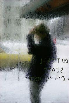 Rain by Saul Leiter