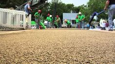 pervious concrete - YouTube