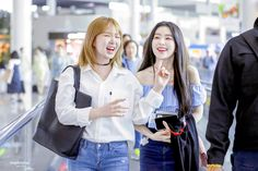 """""""kpop girls pictures that looked like they're from romance movies / series; Kpop Girl Groups, Korean Girl Groups, Kpop Girls, Wendy Red Velvet, Red Velvet Irene, Celebs, Celebrities, Airport Style, Seulgi"""
