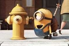 Minions Hydrant