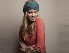 modèle tricot : bandeau cheveux