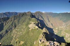 Překrásné Machu Pichu z vrcholce Waya Pichu