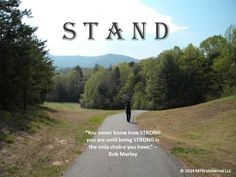 Be on your guard; stand firm in the faith; be courageous; be strong. — 1 Corinthians 16:13 NIV  STAND! (http://www.mtnuniversal.com/stand/)  Join in the conversation on the blog link above.  Fear not, be weird enough to share this someone else.  Follow us on Twitter - https://twitter.com/FearNotBeWeird Like us on Facebook - https://www.facebook.com/mtnuniversal Follow us on Pinterest - https://www.pinterest.com/fbeweird/