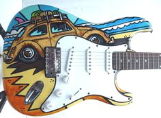 """Ratlook Bug"" Beetle Guitar"