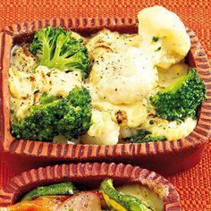 Kohlröschen mit Senf-Käse-Sauce Rezept | Küchengötter