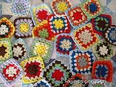 Someone please teach me how to make granny squares!!