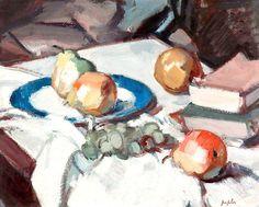 The Athenaeum - Still Life (Samuel John Peploe - )