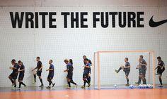 Write the future - Nike (Futsal)