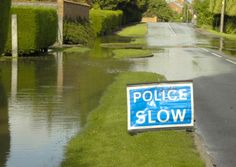 Olney 2012 - The Environment Agency has issued a flood warning across parts of Lavendon & Olney