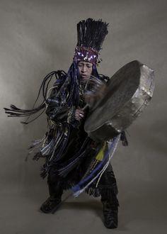 Turik Balası Costume, Drums Drummers drumming large drumsticks