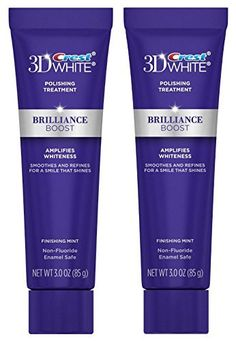 Crest 3D White Polishing Treatment - Brilliance Boost, 3 Ounce (Pack of 2)