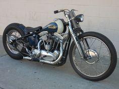 Harley XLCH #bobber