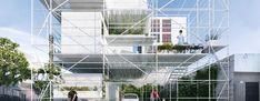 francisco magnone + luciano lopez explore space-time with ephemeral architecture
