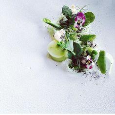 INKrestaurant Chef Martyn Meid Pea Textures