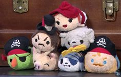 Disney Parks will release an exclusive Pirates of the Caribbean Tsum Tsum collection early 2016.