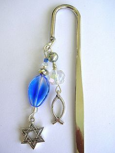 One in Messiah Bookmark by lightofzionjewelry on Etsy