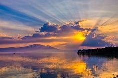 Lago de Chapala, el más grande de la República Mexicana.