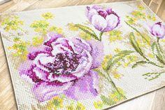 Alfombra decorativa - Tulipanes