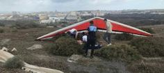 Tamaraceite: Un herido grave en un accidente de ala delta en Lo...