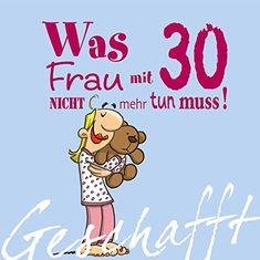 Dieses Buch ist ein humorvolles Frauengeschenk zum 30. Geburtstag. Dieses Buch garantiert Spass statt Lebenskrise. Eine Idee für das Geschenk unter Kollegen.