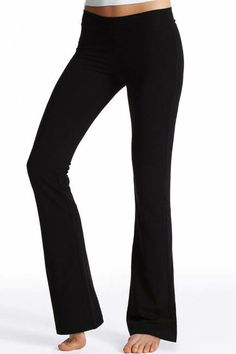 SHOP THE TREND: WHAT TO WEAR TO THE GYM  THE PANTS  Victoria's Secret Classic Yoga Pants, $ 34.50; victoriassecret.com