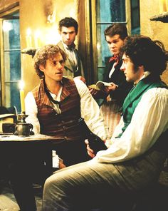 Men of Les Misérables - particularly Aaron Tveit and George Blagden