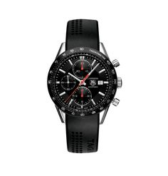 TAG HEUER CARRERA CALIBRE 16 AUTOMATIC CHRONOGRAPH 41 MM REF: CV2014.FT6014 $4,500.00