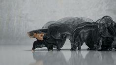 Motion sculptures idents