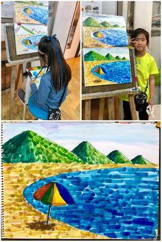 [초등3~6학년 수채화반] 5월 수업 - 한여울미술학원[부산 사직동미술학원/온천동미술학원/거제동미술학원 : 네이버 블로그 Kids Art Class, Art Lessons For Kids, Art Lessons Elementary, Art For Kids, Painting For Kids, Drawing For Kids, Art Lesson Plans, Flowering Trees, Art Activities