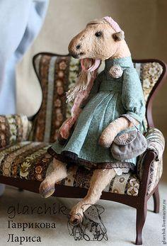 Мишки Тедди ручной работы. кобылка Фрося. glarchik Лариса. Ярмарка Мастеров. Коллекционная игрушка, пряжа хлопковая