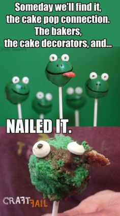 nailed it cake pops - Google Search