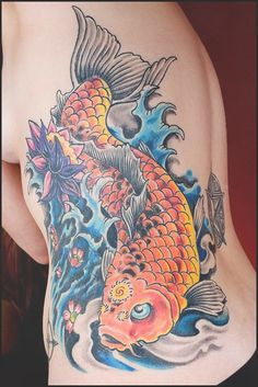 50 Koi tattoo meaning and Designs For Men and Women | Koi, Tattoo ...