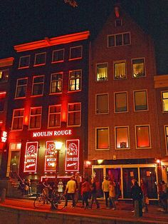 Red light district, Amsterdam, Netherlands good times. Visited twice. once in 2006 and again with my husband in 2013