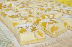 Citromhab: Barackos túrókocka My Dessert, Dessert Recipes, Yummy Treats, Sweet Treats, Cheese Cubes, Sweet Desserts, Cupcake Cakes, Cheesecake, Food And Drink