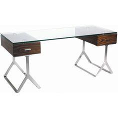 Toll Free: (800) 615-9703|SKU #: BIM1096 Bellini Modern Living Zara Writing Desk (View all fromBellini Modern Living)