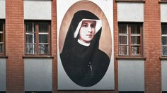 "Portrait of St. Sister Faustina in Cracow Lagiewniki. / ""Nasz Dziennik"": św. Faustyna Doktorem Kościoła? - Wiadomości Faustina Kowalska, Divine Mercy, Main Theme, Batman, Superhero, Art, Poland, Art Background, Kunst"