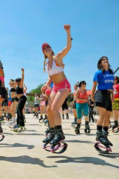 Kangoo Jumps: At the end, I felt like an astronaut: One small step for me, one bouncy leap toward making running way more fun!